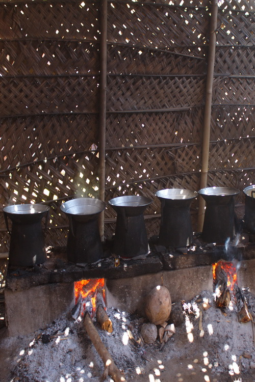 Bali traditional kitchen