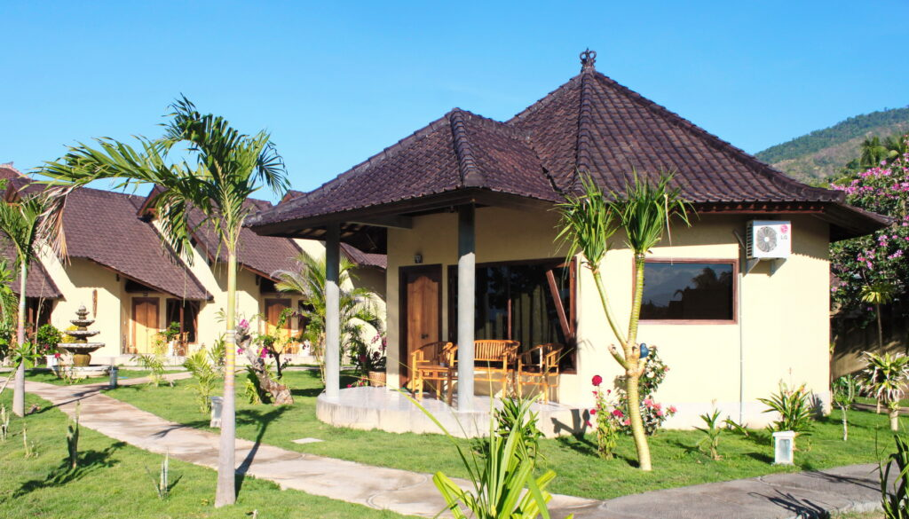 accommodation in ocean view family villa