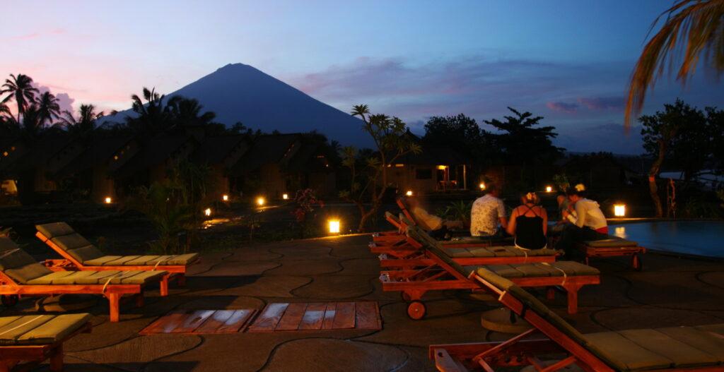images tradition culture beach Mt. Agung Bali
