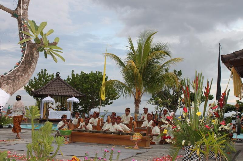 Balinese Wedding Ceremony in Hotel Uyah Amed & Spa Resort - Bali - Bali Gamelan Orchestra