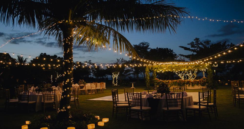 Bali wedding ceremony in Hotel Uyah Amed