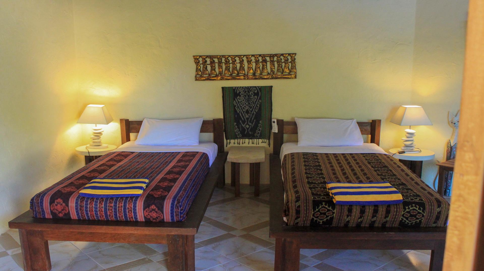 TWIN Bungalow Vue Mer - Hotel Uyah Amed & Spa Resort Bali