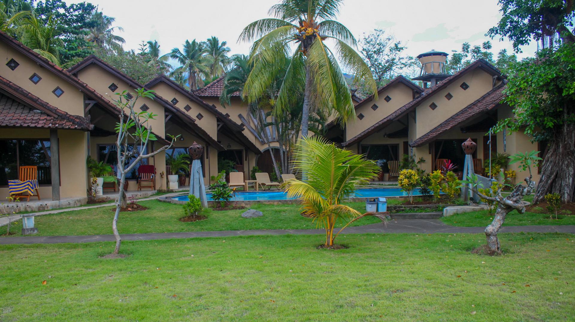 Hotel Uyah Amed & Spa Resort Pool Side Bungalow Twin Fan_b