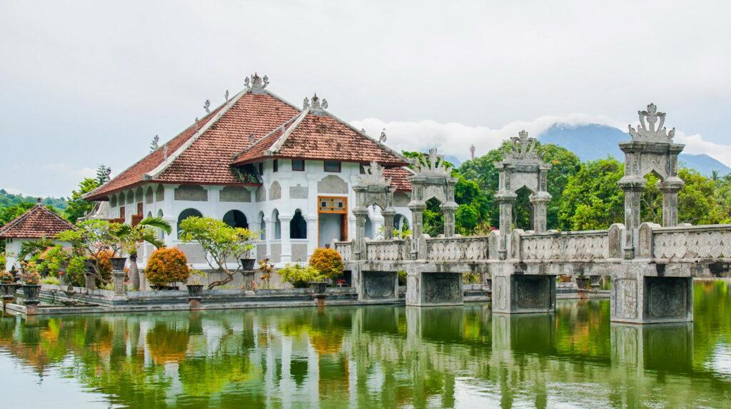 Ujung water Palace east Bali